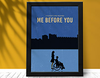 Me Before You Minimalist Poster