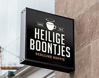 Heilige Boontjes coffee identity