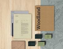 Woodland branding