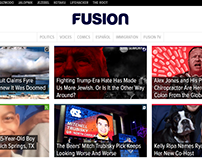 Audience Development at Univision's Fusion Media Group