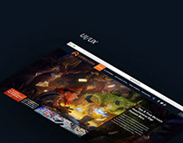 Games In Asia UI/UX