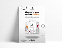 Poster Design for Vanilla cookies I campaign 1