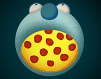 Eatin' Pizza