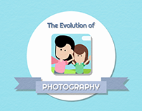 The Evolution of Photography - Motion Graphic