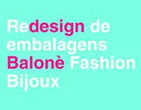 Redesign - Embalagem institucional Balonè