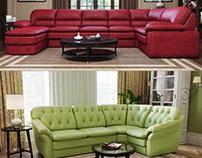 Sofa modeling+render