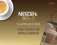 Nescafe Cappuccino : The Taste of Indulgence