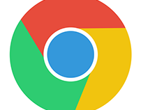 google chrome flat iCON