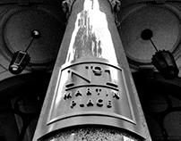 Sydney's Pitt Street Archy in Monochrome