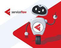 ServiceFlow - website & brand hero