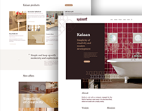 Kaiaan web design UI/UX