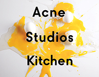Acne Studios Kitchen
