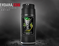 Deodorant 3d Model Mockup