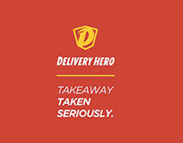 Delivery Hero - DIGITAL + PRINT + WEBSITE + APP