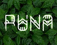 RUNA. Free decorative font