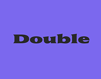 Double | Retail Typeface