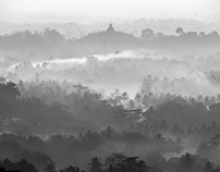 """Another Time in Borobudur """"a mystical heaven on earth"""""""