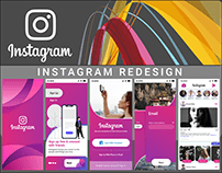 INSTAGRAM MOBILE APPLICATION REDESIGN