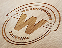 Wilson Brothers Painting logo