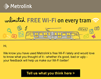 Metrolink HTML Emailer - WiFi Survey