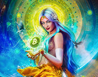 Vires in Numeris - Bitcoin Art