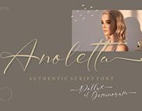 Anoletta - Authentic Script Font