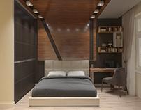 Спальня. Bedroom.