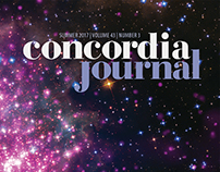 Concordia Journal | Summer 2017