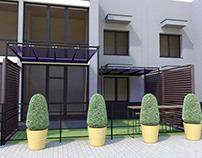 Balcony Concept Visualization