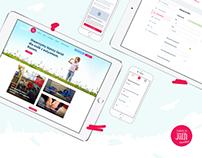 JiM Fundation - website