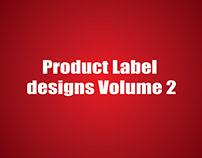Product label designs Volume 2