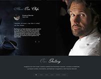 "Restaurant web-design ""De gusto"""