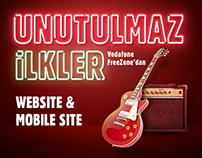 FreeZone Unutulmaz ilkler | Web and Mobile Design