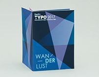 Typo Talks Berlin 2017 Brochure