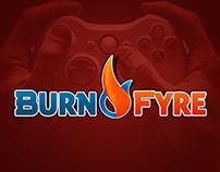 Burn Fyre logo development