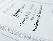 Alfabeto Itálico - Diploma