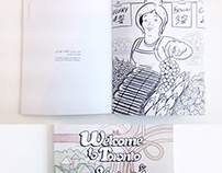 Welcome to Toronto Colouring Book