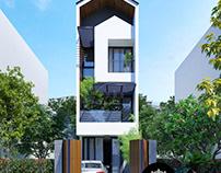 Mẫu thiết kế nhà phố 4x16m hiện đại 3 tầng tại Tphcm