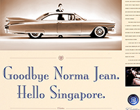 Cadillac debuts in Singapore