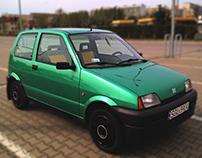Fiat Cinquecento 700 | design project