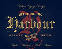 Harbour • Blackletter Typeface