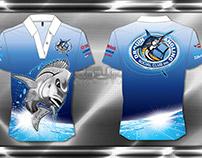 Dye Sublimated Fishing Club Polo Shirt