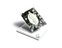 Business Card Design for Alexandra Lindner Gartenleben