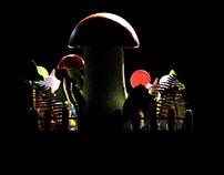 3D Study - Mushroom House
