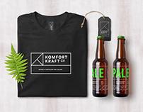 Komfort Kraft Beer Branding