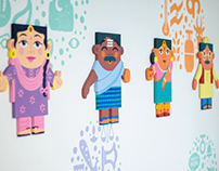 Desi People Mural | Facebook India
