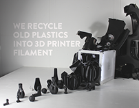 REFIL - Fully recycled 3d printer ink.