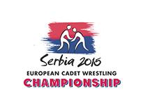Logo for wrestling championship
