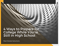 4 Ways to Prepare for College in High School