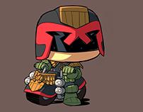 Judge Dredd - Funko Universe - IDW